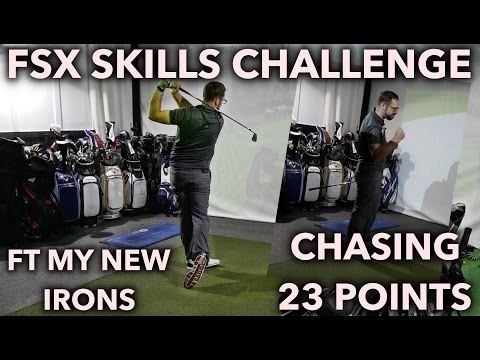 FSX Skills Challenge - Chasing 23 Points + Testing My New Irons