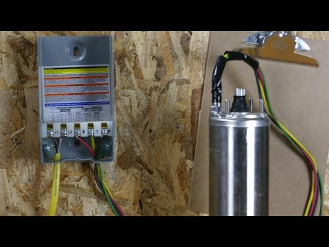 how to wire a franklin electric qd control box (1/3-1 hp) - youtube  youtube