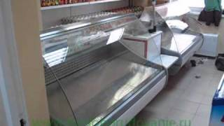 видео Холодильные витрины