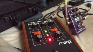 Moog Moogerfooger MF-101 vs. MXR M82 - Envelope Filter Review for Bass Guitar - With Direct Audio! thumbnail