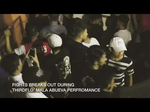 The Plug PH Presents Fights Breaks Out During Third Flo' Mala Abueva Performance