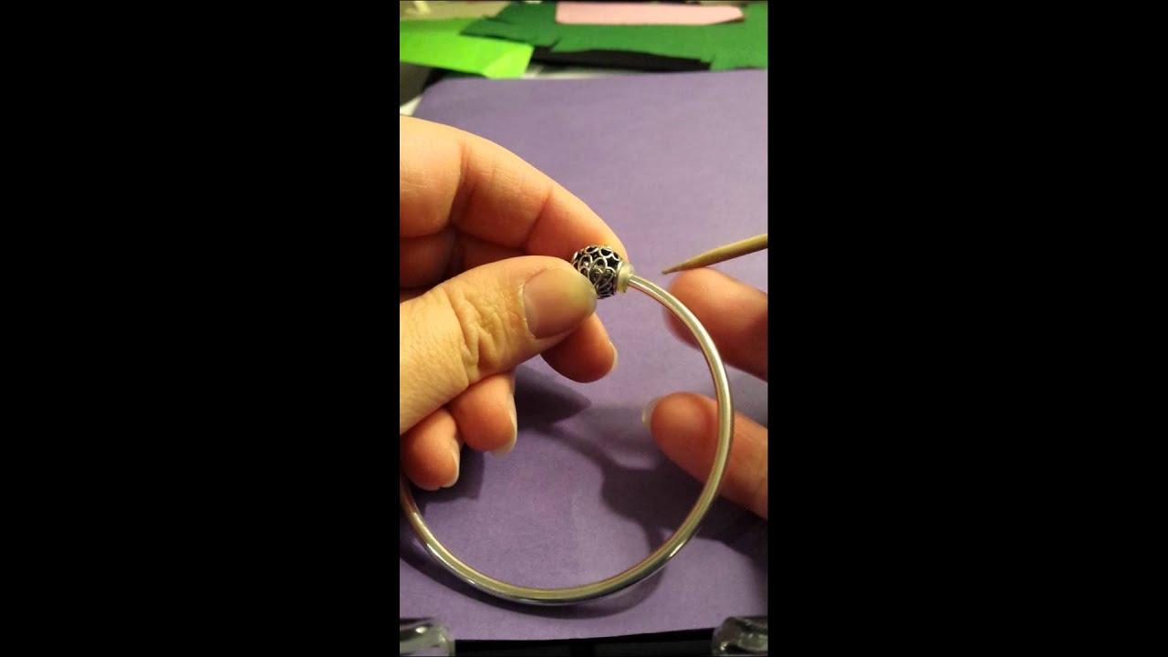 How To Add Charms To A Pandora Bracelet