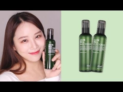 Internationally beloved Aloe BHA Skin Toner (Eng ver.)