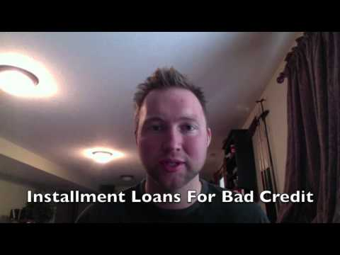 Installment Loans For Bad Credit - 60 Second Approval! (Best Rated)