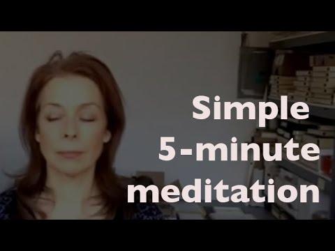 Simple 5 Minute Meditation