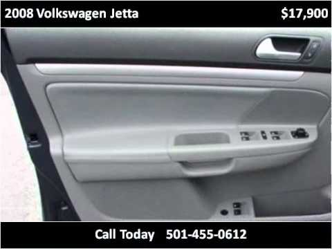 2008 volkswagen jetta used cars little rock ar youtube. Black Bedroom Furniture Sets. Home Design Ideas