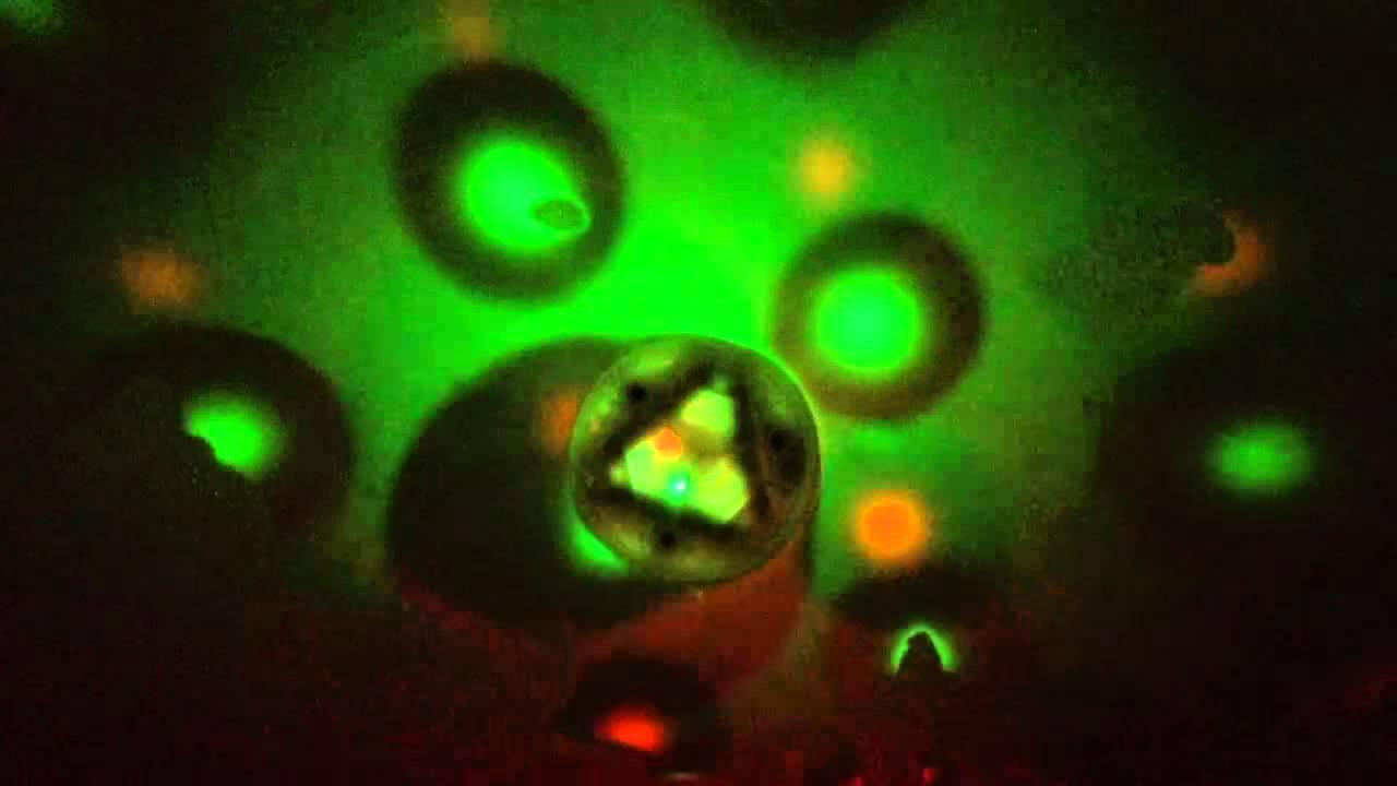 Underwater Light Show - YouTube