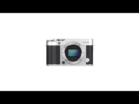 FUJIFILM X A3 mirrorless digital camera promo video