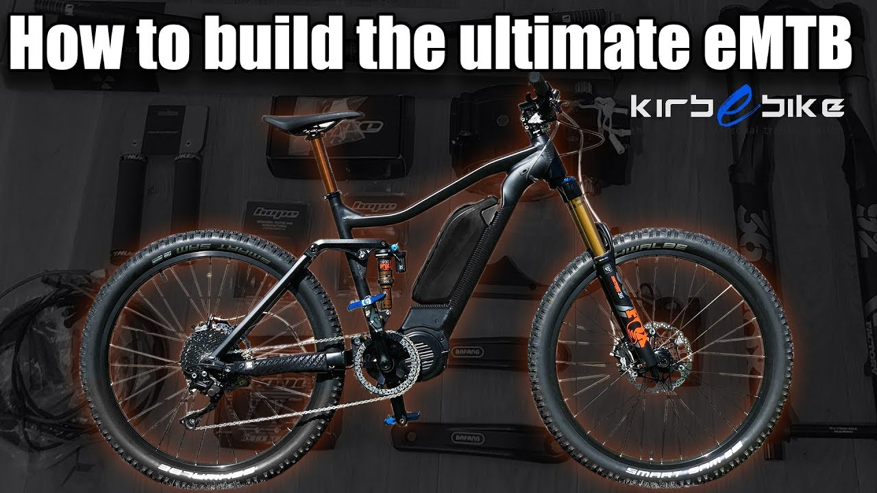KirbEbike Vapour eMTB frame and M620 powertrain kit ONLY