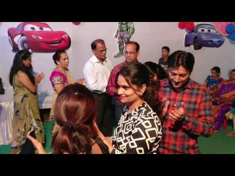Shaurya's 5th Birthday Party - Couples game 1