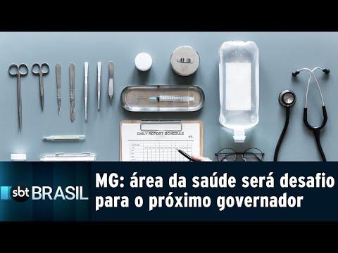 Em MG, área da saúde será um desafio para o próximo governador | SBT Brasil (30/08/18)