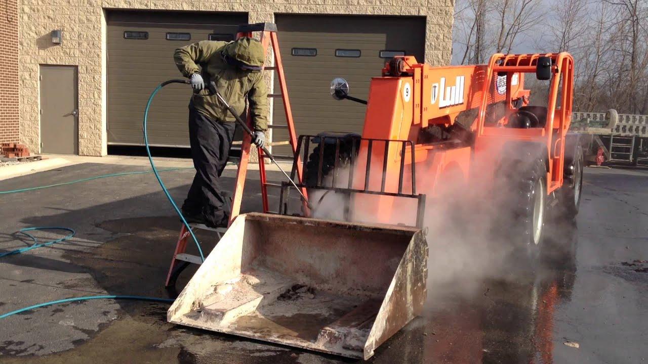 Pressure Washing Equipment : Heavy equipment pressure washing chicago youtube