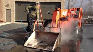Heavy Equipment Pressure Washing Chicago