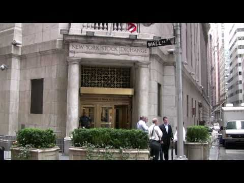 WALLSTREET AND FEDERAL HALL TOUR NEW YORK TOUR