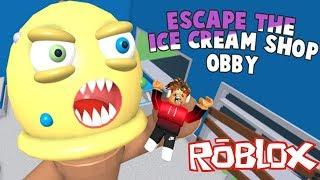 ESCAPE The Ice Cream Shop Obby Fun Roblox Game