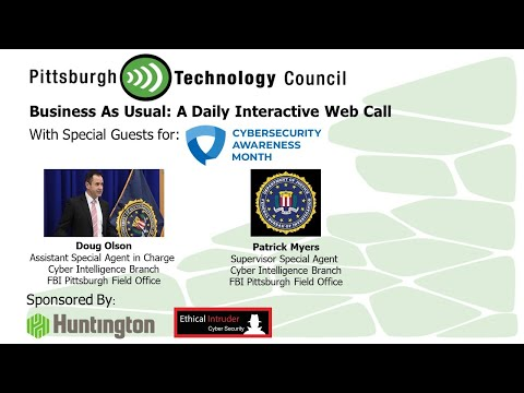 FBI Pittsburgh Talks Cybersecurity Awareness on Business as Usual
