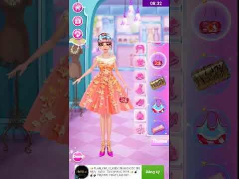 Trang điểm cho công chúa và quản lí tiệm thời trang DREAM FASHION SHOP | Khái quát những thông tin liên quan tiem thoi trang chi tiết