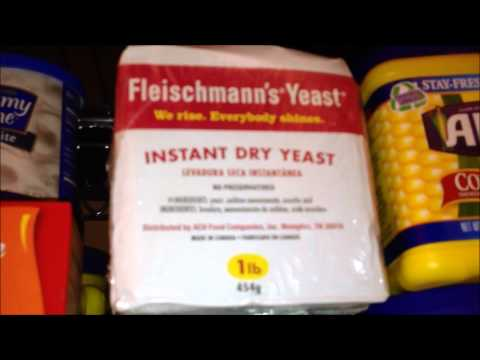 Food Storage, Prepping & Survival Tip #3 - Thoughts on Yeast