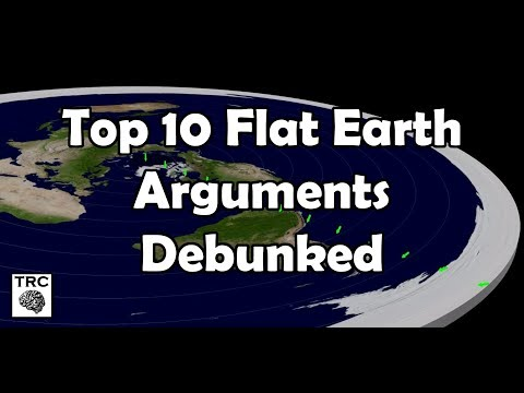 The Top 10 Flat Earth Arguments Debunked thumbnail
