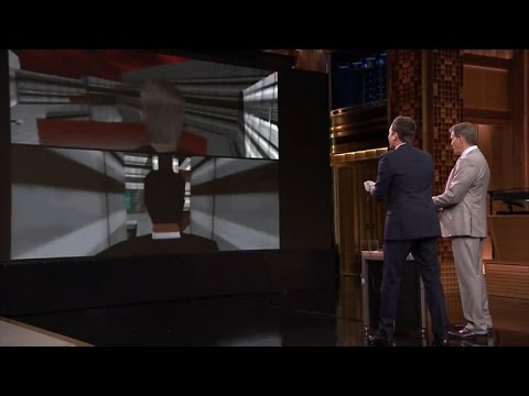 Jimmy Fallon Destroys Pierce Brosnan at 'GoldenEye' Game
