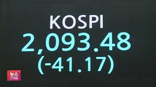 코로나 재확산 우려에 양대시장 반응…코스피 2100선 …