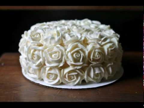 How To Make Buttercream Roses Youtube