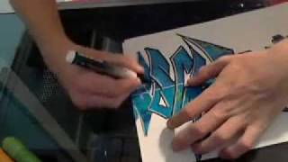 """Graffiti Request - """"J. VIaches"""" by Mitchell Griest"""