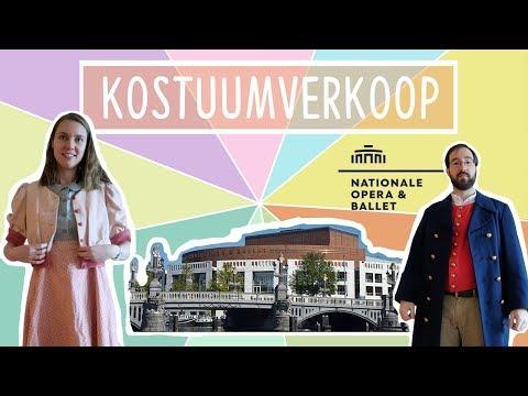 Naar de kostuumverkoop van De Nationale Opera & Ballet! + Shoplog    Met Rebecca