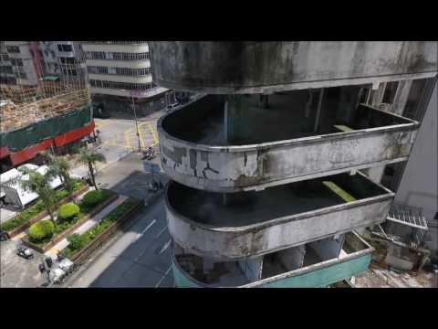 香港航拍之南昌街14號為群公寓 (Nam Cheong Street)