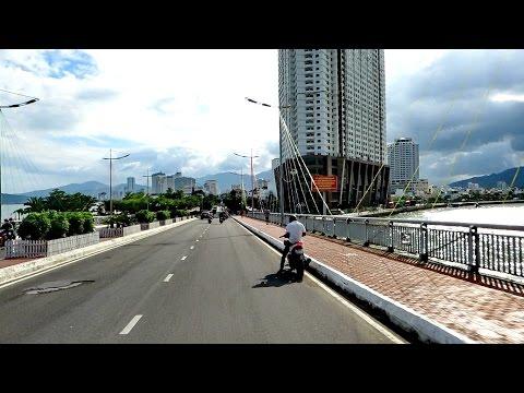 TRIP THROUGH NHA TRANG VIETNAM / Travel Video January 2017