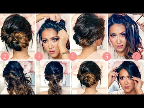 TOP 6 RUNNING LATE ELEGANT HAIRSTYLES FOR WORK