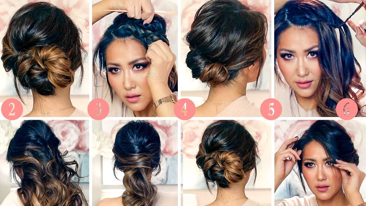 6 BEST RUNNING-LATE HAIRSTYLES & UPDOS Transformation 2018