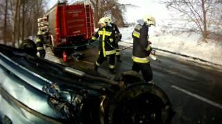 Endre/1 vonulása közlekedési balesethez.
