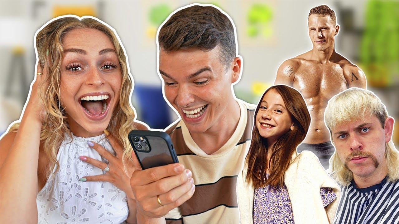 Vi bestiller sjove videohilsner fra kendte mennesker!