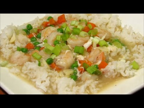 Shrimp with lobster sauce chinese food recipe youtube forumfinder Images
