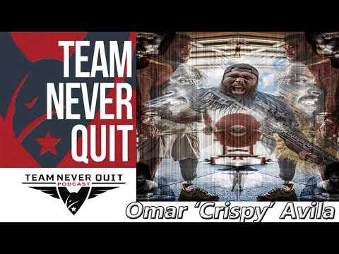 Comedy Never Quit Podcast EP.109: Omar 'Crispy' Avila