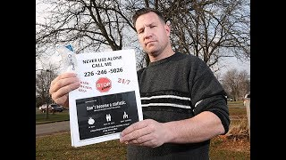 Windsor Overdose Society circulating flyers to prevent overdoses