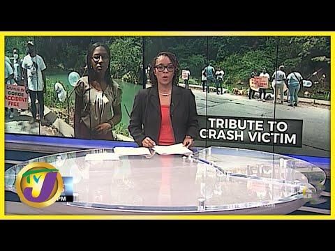 Tribute for Victims of Bog Walk Fatal Crash | TVJ News - June 17 2021