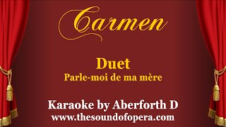 Carmen Karaoke - Parle-moi de ma mère (Duet)