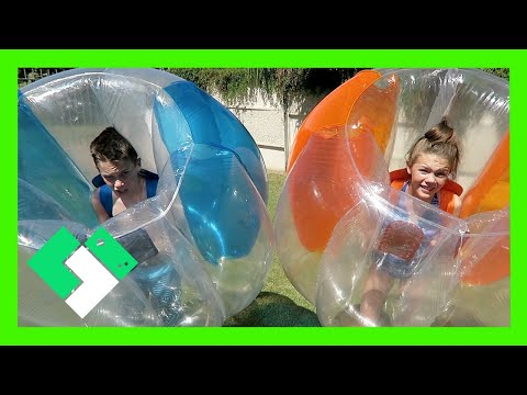 BUBBLE BALL FIGHT! (Day 1631) | Clintus.tv thumbnail