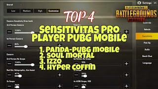 Sensitivitas Pro Player PUBG Mobile PANDA, MORTAL, IZZO, COFFI…