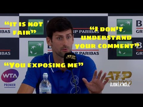 Novak Djokovic - 9 minutes of ARGUING with a journalist - Rome 2019 (HD)