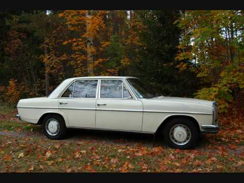 Mercedes Benz 220 1969 W115 Youtube