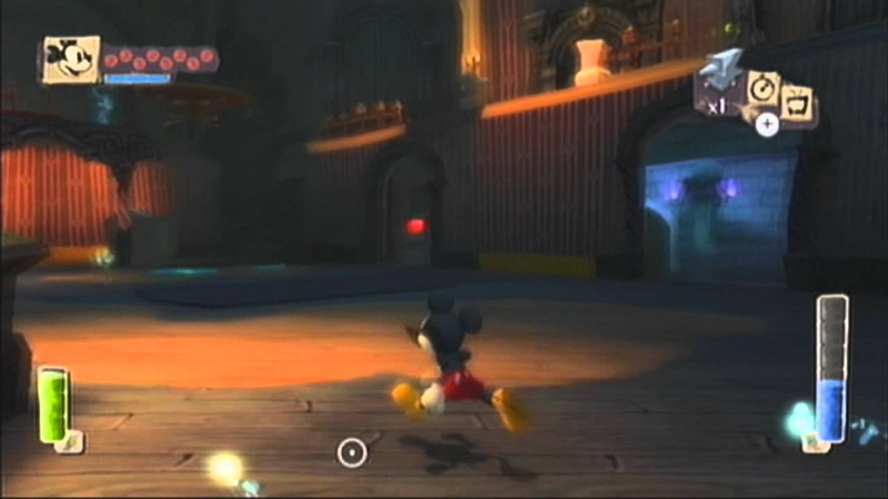 epic mickey walkthrough - hero path - part 26 lonesome ...