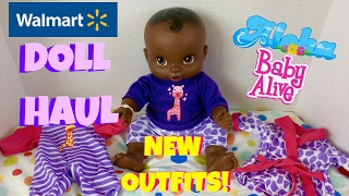 🛍 Walmart Doll Haul! Cheap Outfits for Baby Alive Doll! Some Reborn Supplies (Paints & Brushes)🎨🖌
