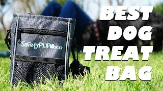 SafetyPUP XD Dog Treat Bag Great For Walking or Hiking With Your Dog and Dog Training
