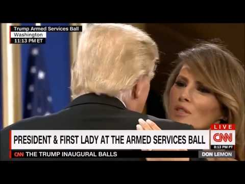 Thumbnail: Pres. Trump, VP Pence, and their Wives Dance with Military at Armed Services Ball