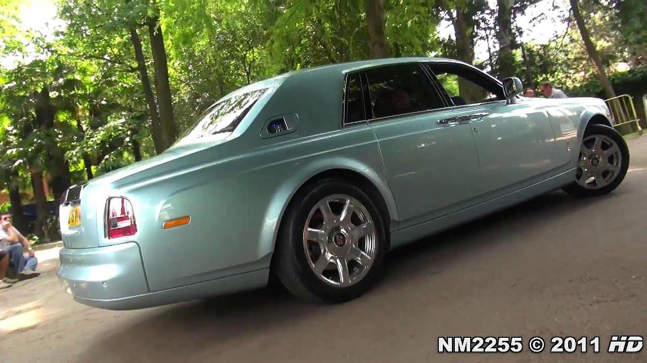 Rolls Royce Phantom 102ex Experimental Electric In Action