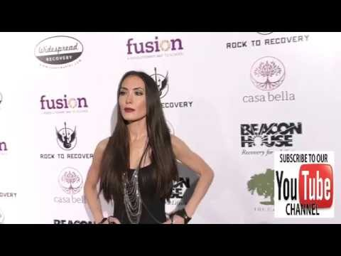 Mandy Amano arriving to Rock For Recovery at the Fonda Theatre in Hollywood