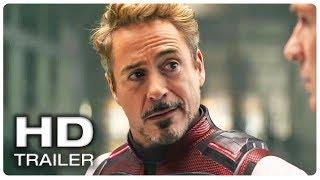 AVENGERS 4 ENDGAME Tony Stark Quantum Realm Trailer (NEW 2019)Marvel Superhero Movie HD